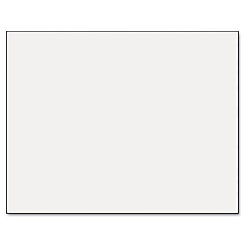 (Pacon Six-Ply Poster Board, 28 x 22, White, 25/Carton)