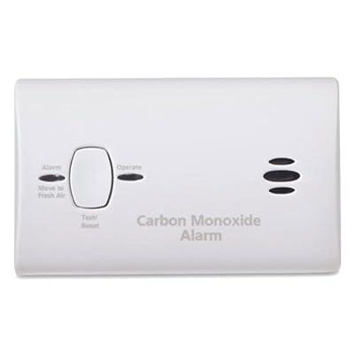 Image of Kidde 21025788 Battery Operated Carbon Monoxide Detector Alarm | Model KN-COB-B-LPM, 6-Pack, 6 Pack Home Improvements