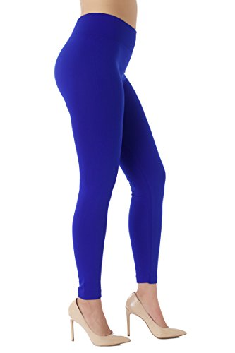 Conceited Fleece Lined Leggings for Women - LFL Cobalt Blue - Small/Medium ()