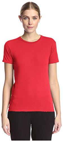 Alternative Ladies Destroyed T-shirt - Alternative Women's Destroyed Tee, Apple Red, XL