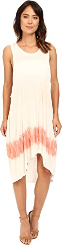 Dip Dye Tank Dress - The Beginning of Women's CHAMAREL Dip-Dye Dress Coral Colorway 2