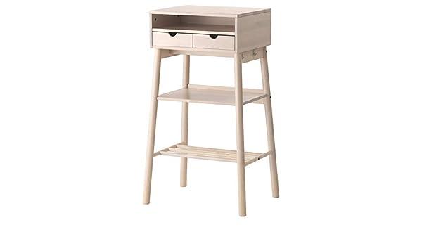IKEA knotten Escritorio para Trabajar de pie, Blanco Abedul ...