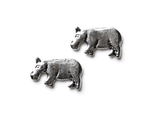 Quality Handcrafts Guaranteed Hippo Cufflinks