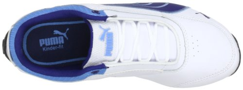 Puma - Zapatillas infantil Weiß (white-twilight blue-azure 12) (Weiß (white-twilight blue-azure 12))