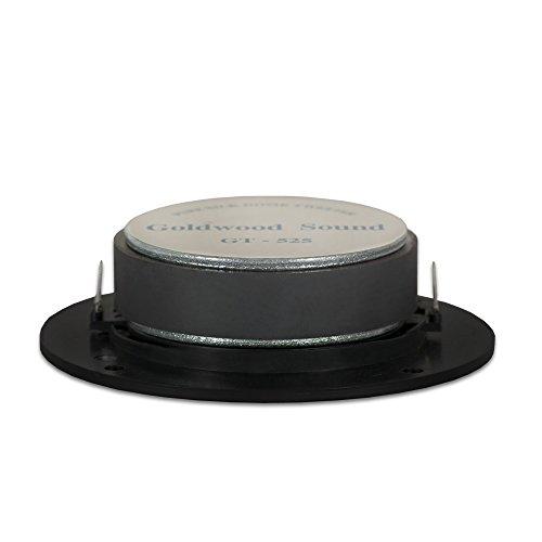 Goldwood Sound 200 Watts 8ohm Silk Dome Speaker Tweeter Black (GT-525)