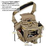 Maxpedition Jumbo S-Type Versipack, Khaki