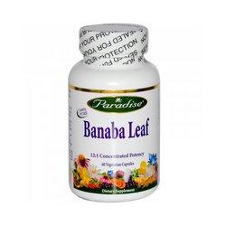 Paradise Herbs Banaba Leaf 12:1 Extract 250 mg-60 Vegi Caps (Banaba Extract Leaf)