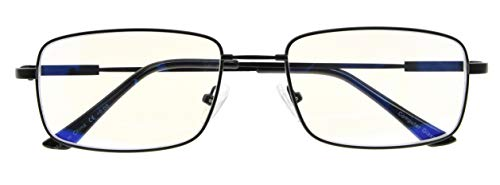 Flexable Blue Light Filtering Glasses Titanium Computer Eyeglasses Men Reading
