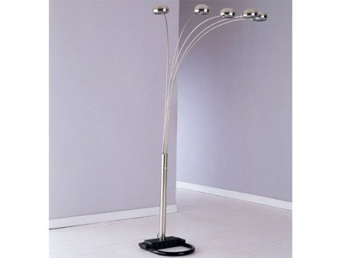Acme Floor Lamp in Nickel