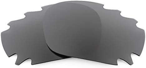 Revant Replacement Lenses for Oakley Racing Jacket Vented, Polarized, Black Chrome MirrorShield