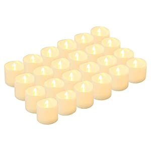 LED Tea Lights Candles, Kohree Flameless Candles Battery Operated LED Candles, Flickering Tealight Candles for Wedding…