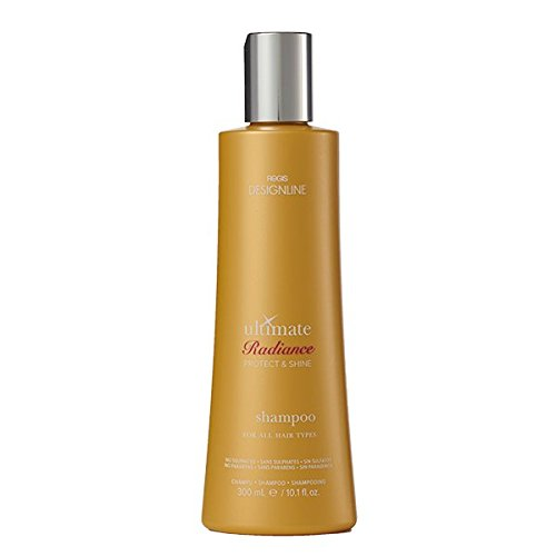 Ultimate Radiance Shampoo, 10.1 oz - Regis DESIGNLINE - Sulfate Free Formula Hydrates Hair & Fights Color Fade (Regis Designline Ultimate Radiance Leave In Conditioning Styler)