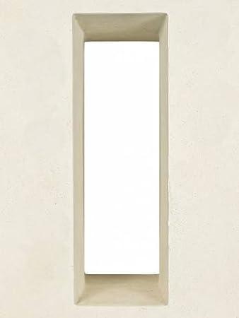 PFLANZWERK® Pflanzkübel VISTA Sand 96x45x27cm *Frostbeständiger ...