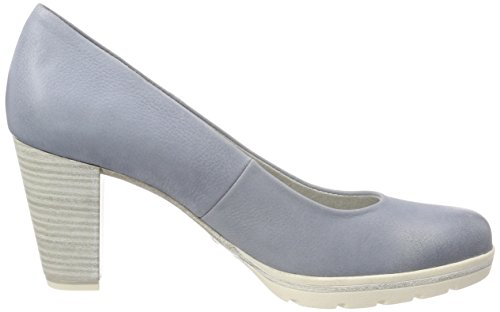 Marco Tozzi Premio 22419 Damen Pumps Blau (Denim)