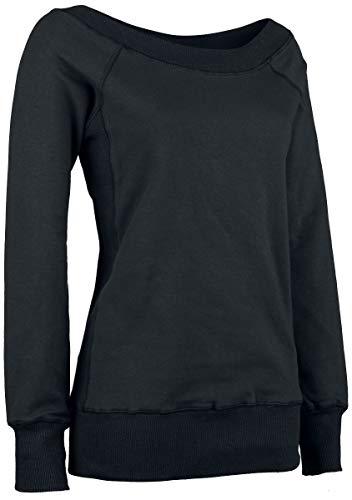 Forplay Sweater Sweatshirts zwart Basics
