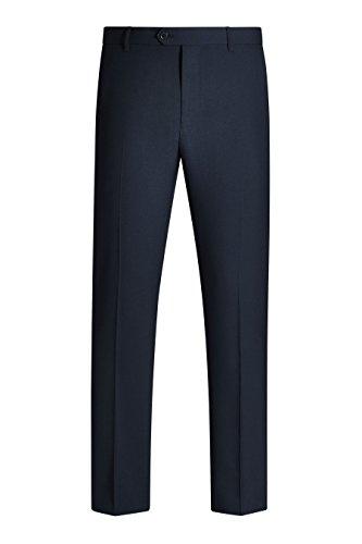 next Homme Pantalon sans pinces Bleu Marine 32 / Long - Skinny Fit