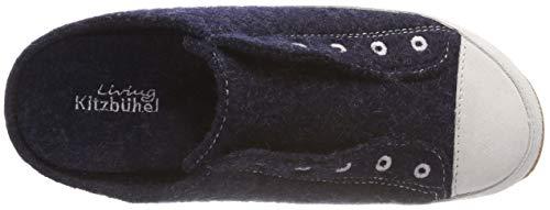 Open Nachtblau Ösenstick Slippers Blau 590 Pantoffel Kitzbühel Women's Back Mit Living UzX7qw