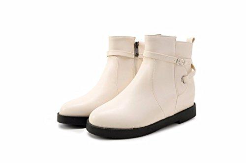 Big Herbst Damen Wintergürtelschnalle Damenschuhe Stiefel Stiefel erhöhen Yards und Martin kurze Beige RFF vwq5BZZ