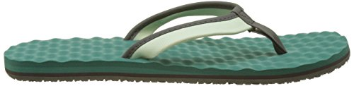 The North Face Damen Basiskamp Mini Flip Flops Grün (ambrosia Groen / Gate Groen)