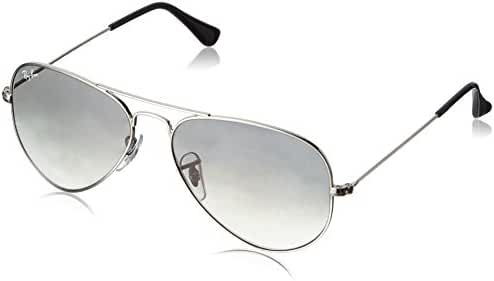 Ray-Ban 3025 Aviator Large Metal Non-Mirrored Non-Polarized Sunglasses
