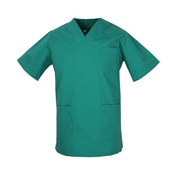MISEMIYA - Casaca Unisex MÉDICO Enfermera Uniforme Limpieza Laboral ESTÉTICA Dentista Veterinaria Sanitario HOSTELERÍA - Ref.817 3