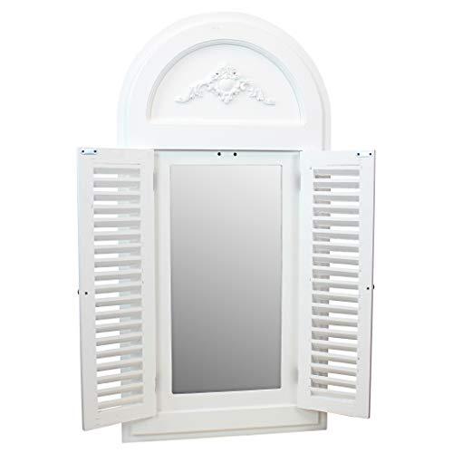 Design Toscano Tuscan Villa Shuttered Arch Mirror