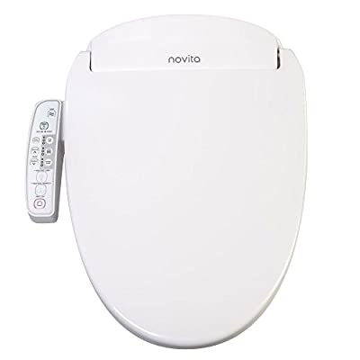Novita Slimline Bidet Toilet Seat Elongated Model BN-330