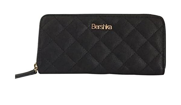 Bershka - Cartera para mujer de Otra Piel Mujer Niñas Negro Negro Talla única: Amazon.es: Zapatos y complementos