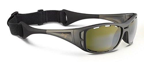 Maui Jim Waterman Sunglasses, Titanium/Maui Ht, One - Jim Ht Lens Maui
