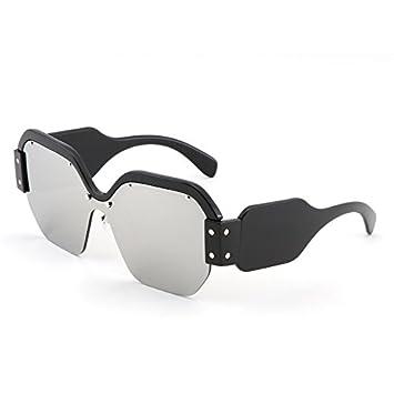 VVIIYJ Gafas de Sol con Montura Grande Gafas de Sol con ...