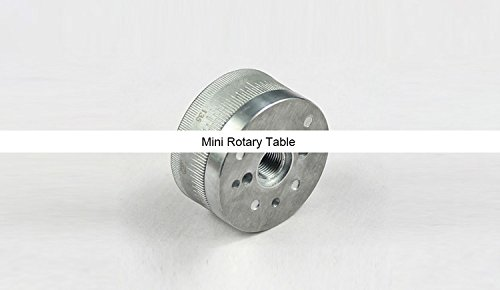 New Z023A Mini Rotary Table/ Metal Rotation Plate/Aluminum Turntable/Zhouyu Accessory