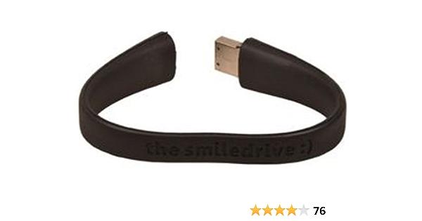 Black 4998650 Sea Tech 16GB Wristband USB Flash Memory Drive