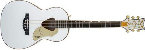 Gretsch Guitars G5021WPE Rancher Penguin Parlor Acoustic/Electric White