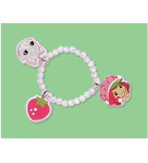 Strawberry Shortcake Charm Bracelets - Strawberry Charm Bracelet 4ct [Contains 3 Manufacturer Retail Unit(s) Per Amazon Combined Package Sales Unit] - SKU# 4259522