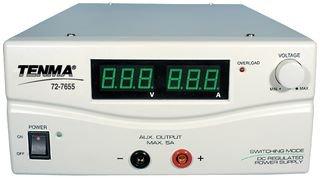 Tenma 72-7655 Power Supply, Ac-dc, 1-15v, 60a, 900w