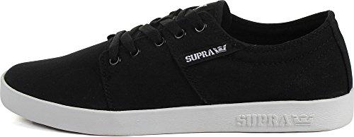 Supra STACKS II D Unisex-Erwachsene Sneakers Black/White
