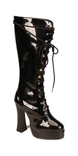 Pu Lace Up Knee Boot (ELECTRA-2020 5