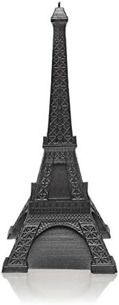 Candellana Candles Candellana Eiffel Tower Candle-Gray Matt Large