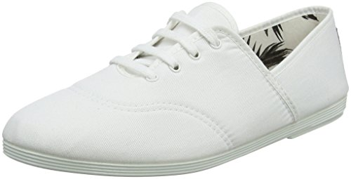 Flossy Oxford Bianco 000 Costa Stringate Scarpe Donna White rZAZg