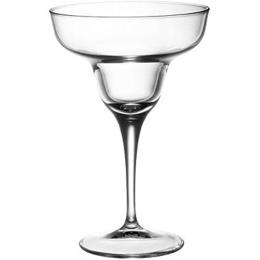 Bormioli Rocco Ypsilon Stemware Margarita Glasses, Set of 6
