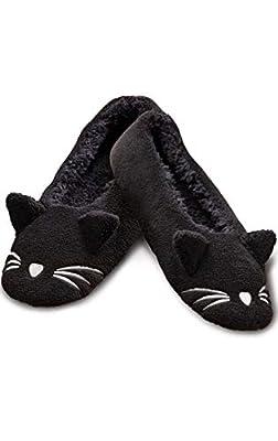 PajamaGram Womens Animal Slippers - Fun, Cute, Cozy