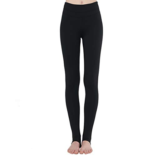 - Zeronic Women's High Waist Stirrup Leggings Tights Gym Workout Yoga Pants (Black, Small)