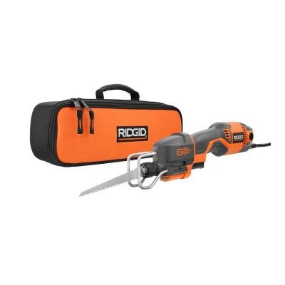 RIDGID 4 Amp Pro Compact Reciprocating Saw Kit R3031