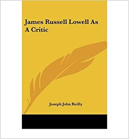 Book James Russell Lowell as a Critic- Common