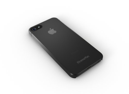 XtremeMac IPP-MFN-13 Microshield Fade Case for iPhone 5/5s - Black/Gray (Black Microshield Cases)