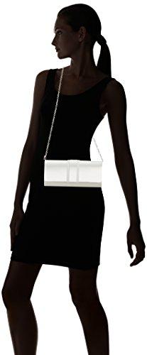 Menbur WeddingIrene - Cartera de mano Mujer Blanco - Elfenbein (Ivory 04)