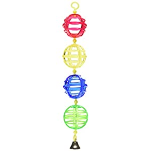 JW Pet Company Activitoy Lattice Chain Small Bird Toy, Colors Vary 35