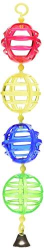 JW Pet Company Activitoy Lattice Chain Small Bird Toy, Colors (Jw Pet Plastic Balls)