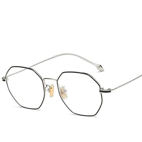 Aoligei Pied de Perles métal wire lunettes cadre art spectacle cadre cadre tendance cent-tour ordinateur D