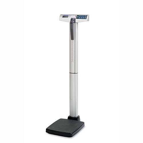 - Health o Meter 500KL Eye Level Digital Medical Scale, 500 lb./220 kg Capacity, Calculates BMI